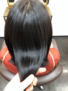 和漢彩染で髪を傷めず白髪も染める!そして安定のハリツヤ【実例#2】